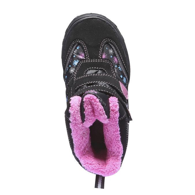 Detská obuv mini-b, čierna, 291-6100 - 19