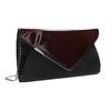 Dámska elegantná listová kabelka bata, červená, 961-5221 - 13
