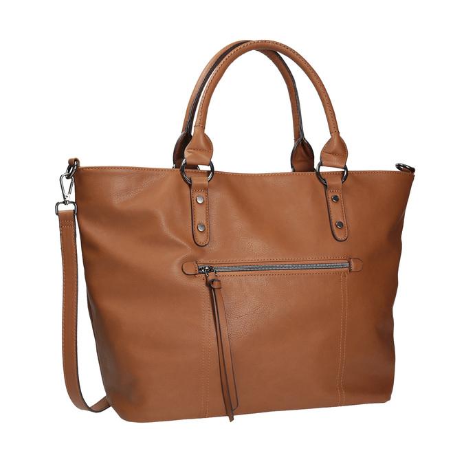 Hnedá dámska kabelka bata, hnedá, 961-3857 - 13
