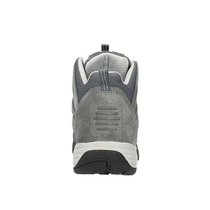 Kožená členková obuv v Outdoor štýle power, šedá, 503-2830 - 17