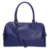 Bowling kabelka s prepleteným vzorom bata, modrá, 961-9629 - 26