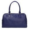 Bowling kabelka s prepleteným vzorom bata, modrá, 961-9629 - 19