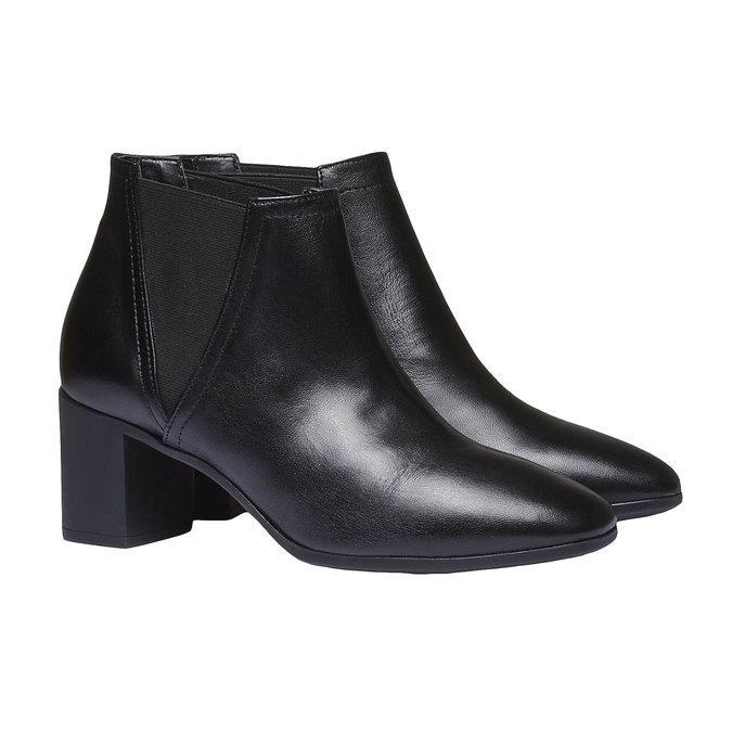 Dámska členková obuv flexible, čierna, 694-6627 - 26