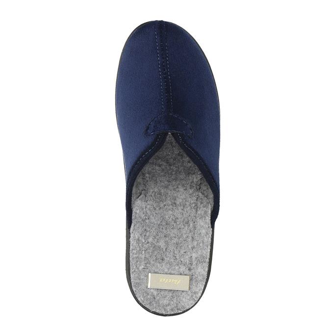 Dámska domáca obuv bata, modrá, 579-9602 - 19