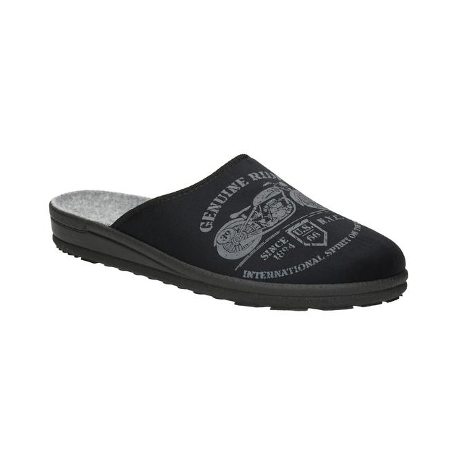 Pánska domáca obuv bata, čierna, 879-6601 - 13