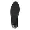 Členková obuv s leopardím vzorom bata, čierna, 796-6610 - 26