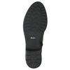 Dámske kožené čižmy čierne bata, čierna, 596-6604 - 19