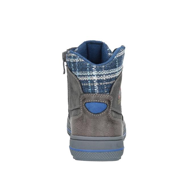 Detská členková obuv mini-b, šedá, 491-2651 - 17