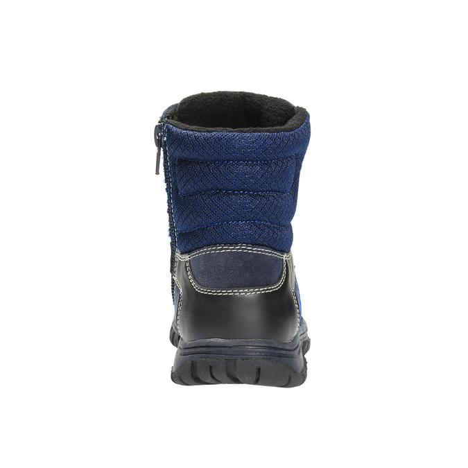 Detská zimná obuv mini-b, modrá, 411-9602 - 17
