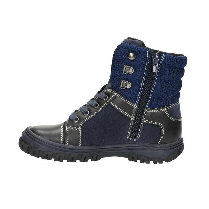 Detská zimná obuv mini-b, modrá, 411-9602 - 26