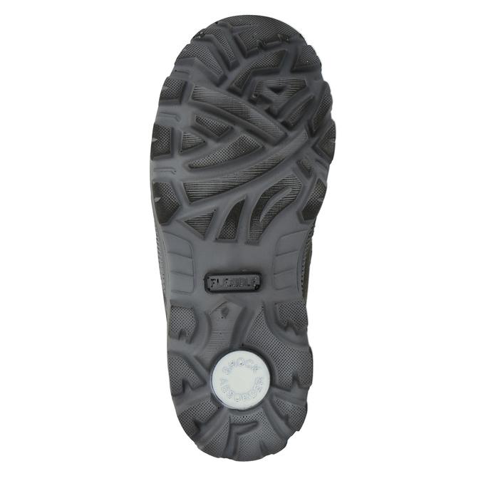 Detská zimná obuv na suchý zips mini-b, hnedá, 499-3103 - 26