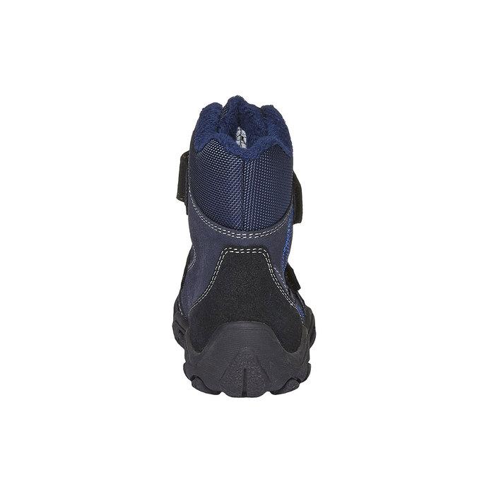 Detská obuv mini-b, modrá, 293-9101 - 17