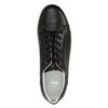 Ležérne kožené tenisky bata, čierna, 844-6629 - 19