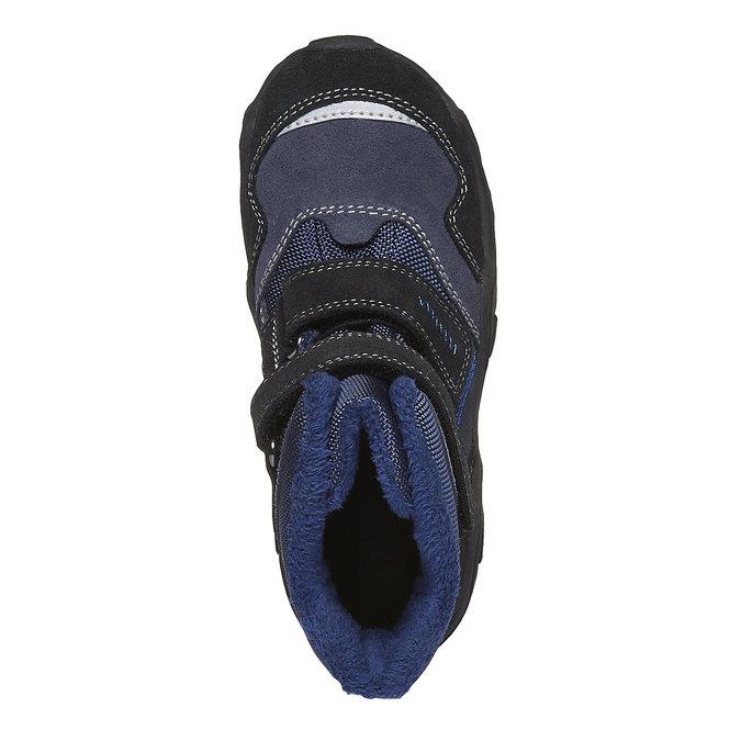 Detská obuv mini-b, modrá, 293-9101 - 19