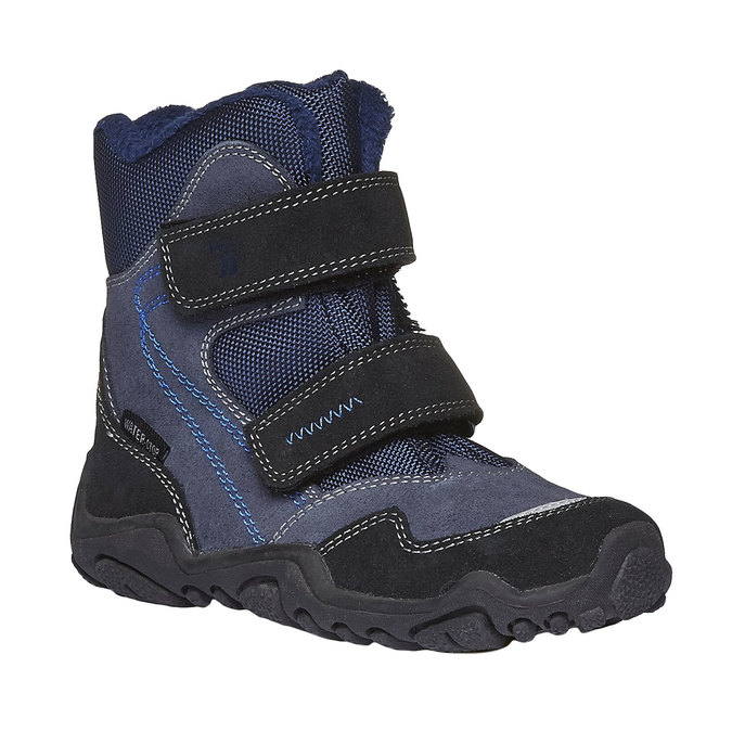 Detská obuv mini-b, modrá, 293-9101 - 13