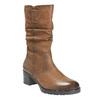 Dámska členková obuv bata, hnedá, 696-3127 - 13