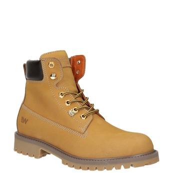 Kožená dámska obuv weinbrenner, hnedá, 596-8629 - 13