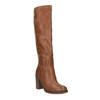 Čižmy na širokom podpätku bata, hnedá, 791-4612 - 13