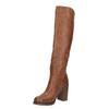 Čižmy na širokom podpätku bata, hnedá, 791-4612 - 26