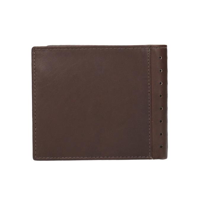 Pánska kožená peňaženka bata, hnedá, 944-4175 - 19