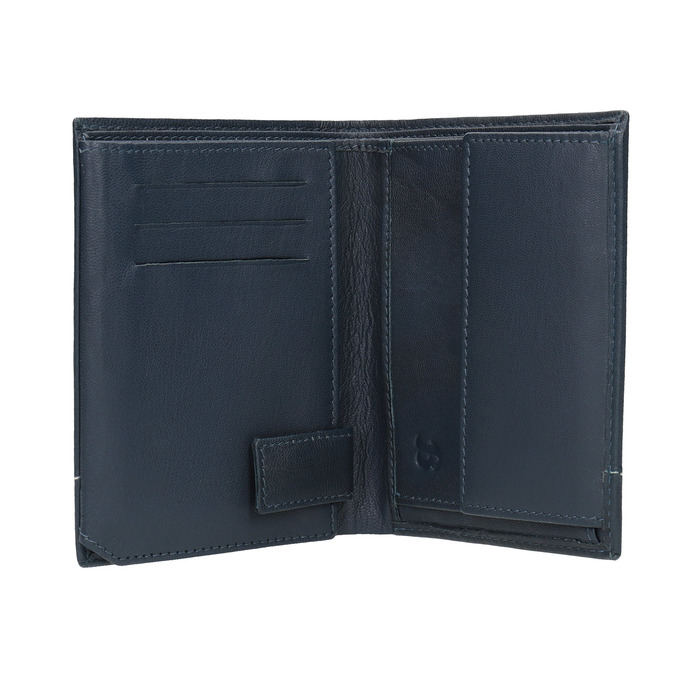Kožená pánska peňaženka bata, modrá, 944-9174 - 15