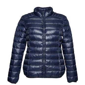 Módna dámska bunda bata, modrá, 979-9637 - 13