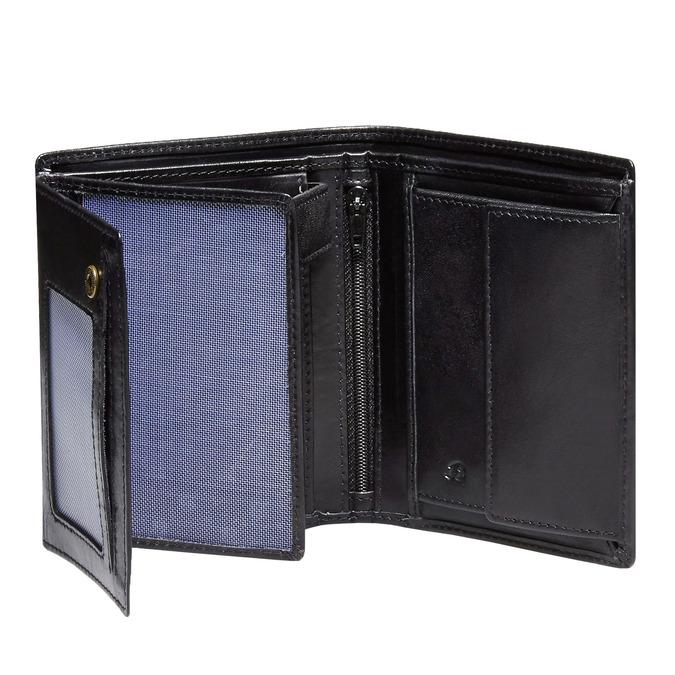 Kožená pánska peňaženka bata, čierna, 944-6121 - 15