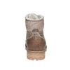 Dámska kožená zimná obuv weinbrenner, hnedá, 594-8491 - 17