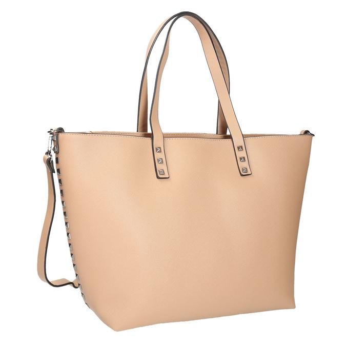 Shopper kabelka béžová bata, béžová, 961-8647 - 13