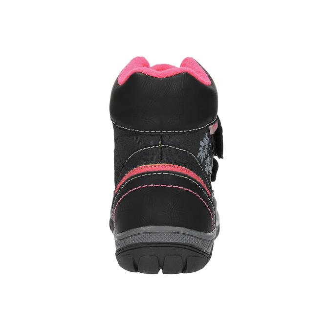 Detská členková obuv mini-b, čierna, 299-6610 - 17