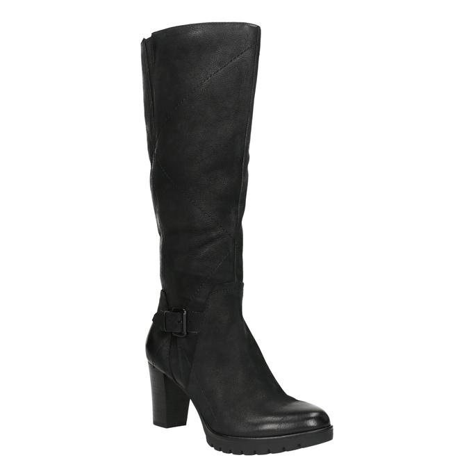 Dámske čižmy bata, čierna, 796-6601 - 13