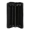 Dámska kožená peňaženka s prešívaním bata, čierna, 944-6164 - 15