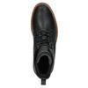 Kožená členková zimná obuv bata, čierna, 894-6659 - 19
