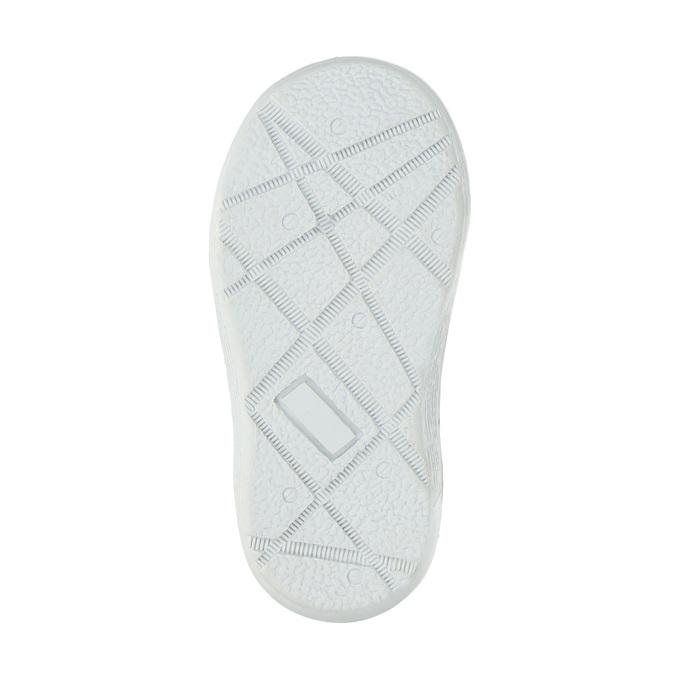 Detská zimná obuv so srdiečkami bubblegummer, šedá, 199-2600 - 26