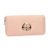 Peňaženka s kovovou aplikáciou bata, ružová, 941-5150 - 13