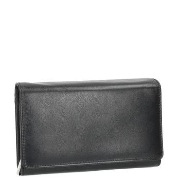 Dámska kožená peňaženka bata, čierna, 944-6168 - 13