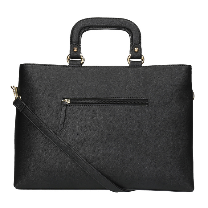Dámska kabelka do ruky bata, čierna, 961-6627 - 26