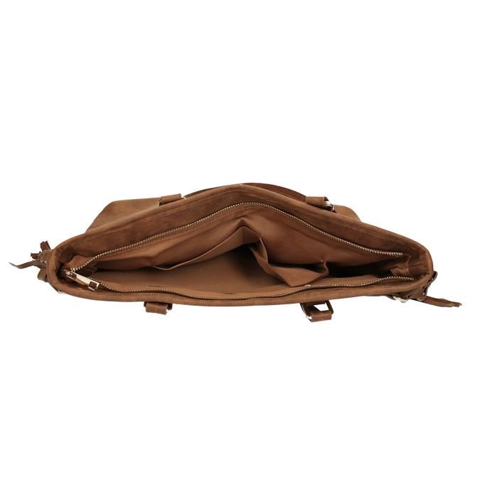 Dámska kabelka v Etno štýle bata, hnedá, 961-3669 - 15