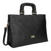 Dámska kabelka do ruky bata, čierna, 961-6627 - 13