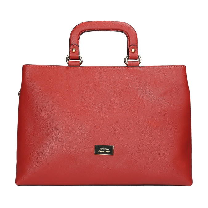 Červená dámska kabelka bata, červená, 961-5627 - 19