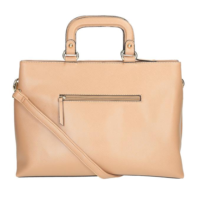 Dámska kabelka do ruky bata, béžová, 961-8627 - 26