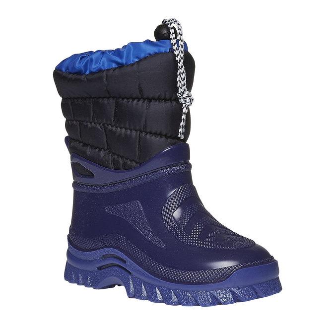 Detská obuv mini-b, modrá, 292-9100 - 13