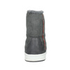 Dámska členková obuv s kožúškom bata, šedá, 599-2606 - 17