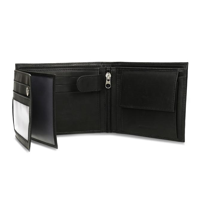 Pánska kožená peňaženka bata, čierna, 944-6171 - 15