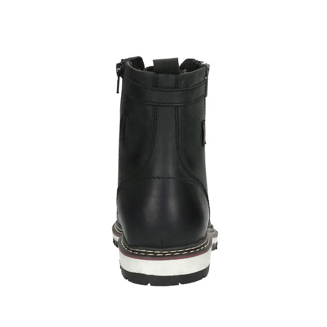 Pánska obuv ku členkom bata, čierna, 896-6641 - 17