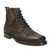 Pánska kožená obuv bata, hnedá, 896-4642 - 13