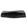 Čierna kožená listová kabelka bata, čierna, 964-6210 - 15