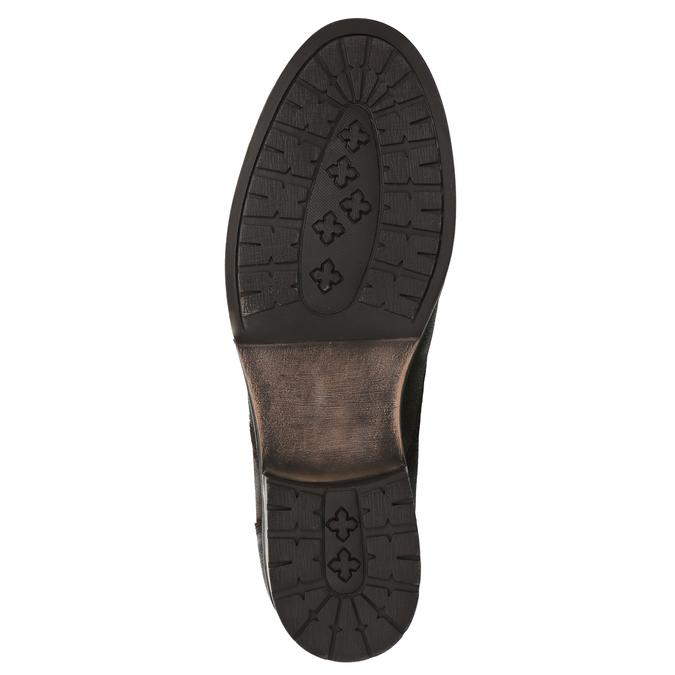 Pánska kožená obuv bata, hnedá, 896-4642 - 26