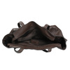 Dámska kožená kabelka hnedá bata, hnedá, 964-4205 - 15