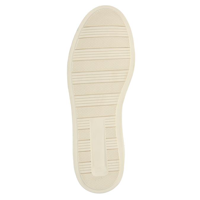 Kožené členkové tenisky so zateplením bata, hnedá, 896-4651 - 26